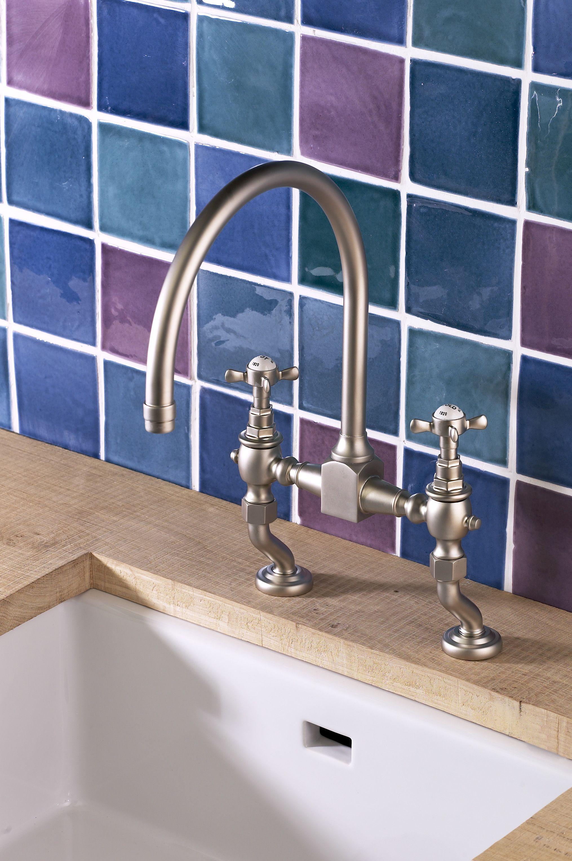Antique kitchen tap in-situ shot | Kitchen | Pinterest | Taps and ...
