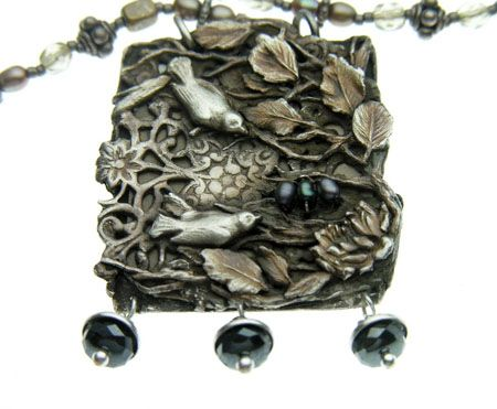 Precious Metal Clay  Elemental Adornments  Christi Anderson