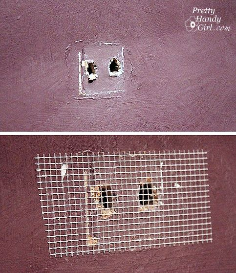 Painting Like A Pro   How To Repair Holes, And Wall Imperfections (step 1