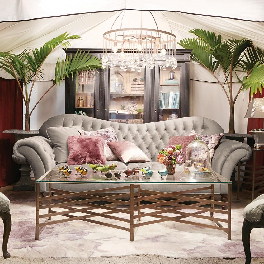 The Living Room Furniture Shop The Club Petite Size Sofa In A New And Even More Luxurious Fabric