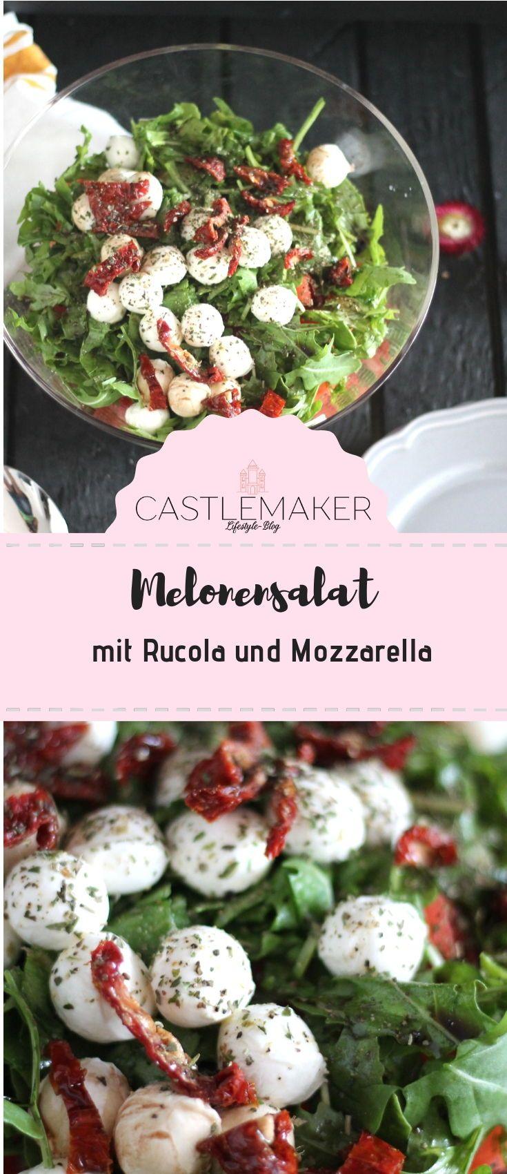 Der Partyhit: Melonen-Salat mit Rucola und Mozzarella « Castlemaker