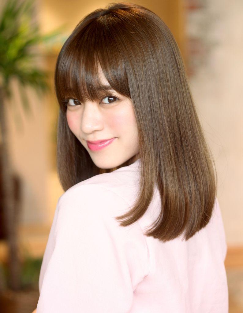 ミセス 大人女子艶ストレート Ke 483 ヘアカタログ 髪型 ヘア