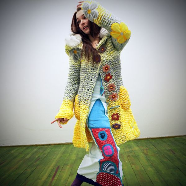 Origo sweater Blumen / Goods Vendor INGKA   Fler.cz