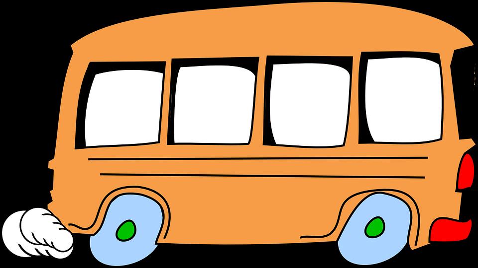 ภาพฟร ท Pixabay รถบ ส การ ต น เร ง ท น าร ก การ ต น ยานพาหนะ