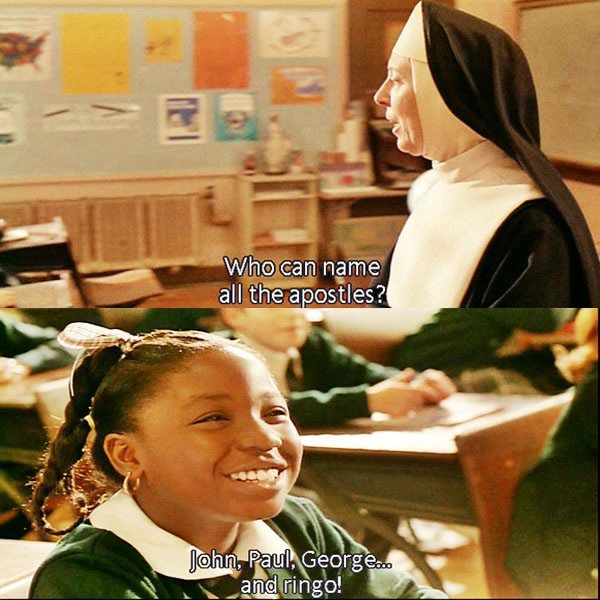 Funny Memes Sisteract Movie With Images Sister Act Cute