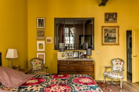 Jaune moutarde n\'est pas jaune curry | Interiors, Bedrooms and House