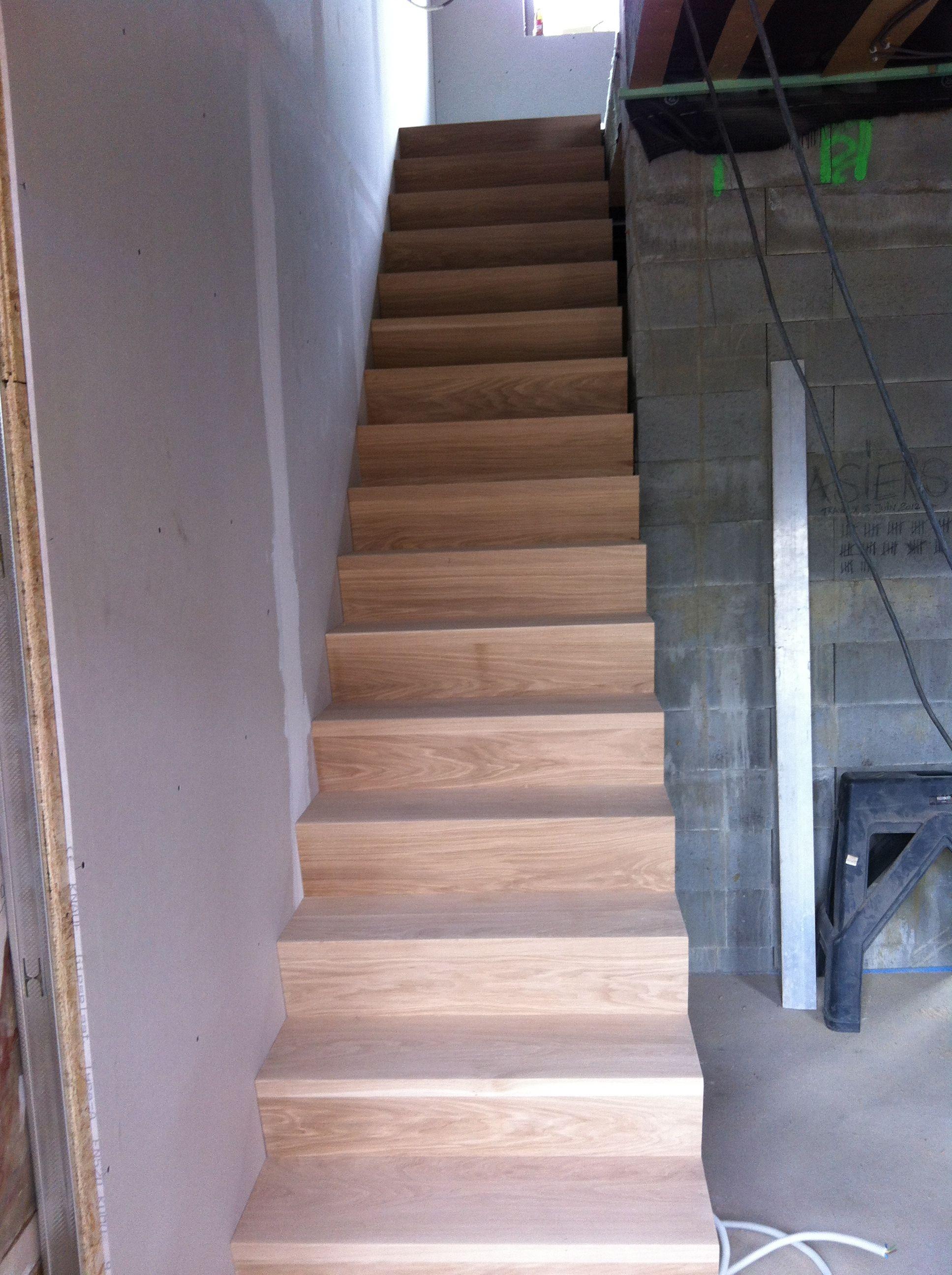 Escalier chªne massif huy Escalier