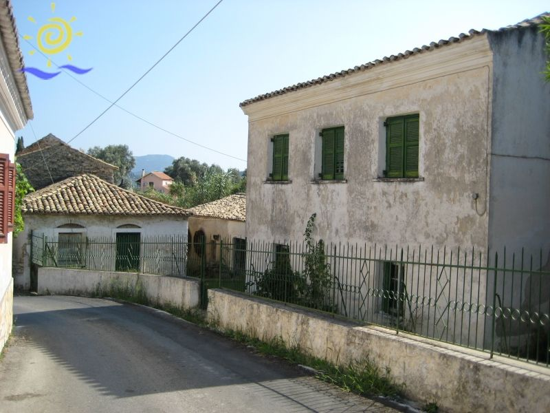 Old Olive Press And Mansion in Rachtades Corfu for sale | Greek