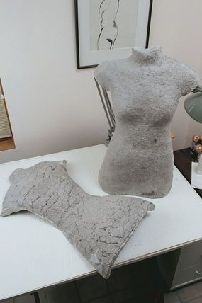 Directions For Making A Papier Mache Dress Form Sca