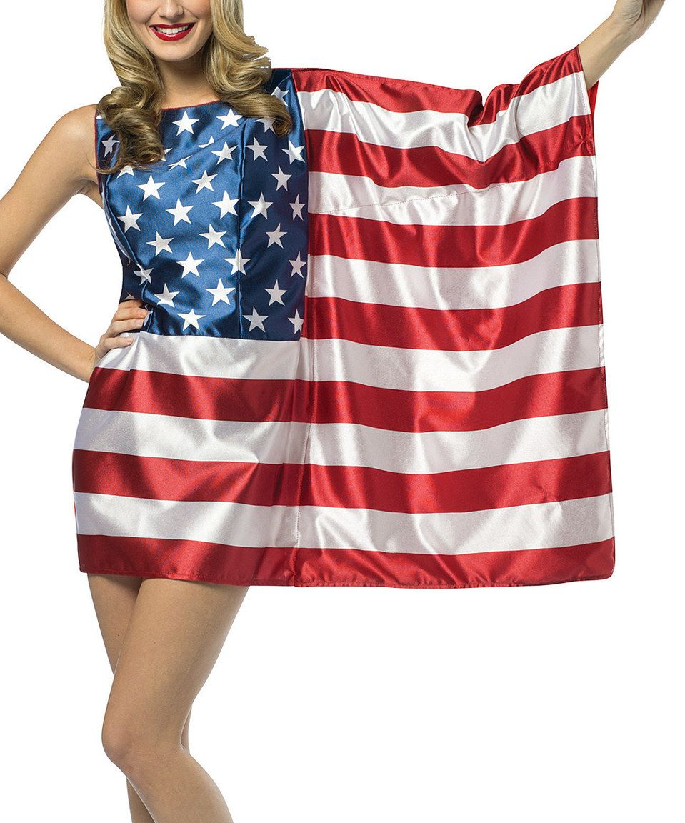 ca4ab3c9417 Love this American Flag Dress-Up Outfit - Women by Rasta Imposta on   zulily!  zulilyfinds.....guess who