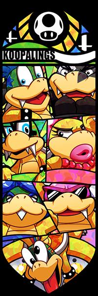 Smash Bros - Koopalings by Quas-quas.deviantart.com on @deviantART