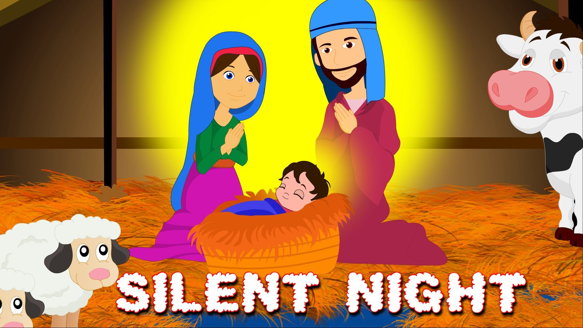Silent Night Holy Night Christmas Song Short Video for