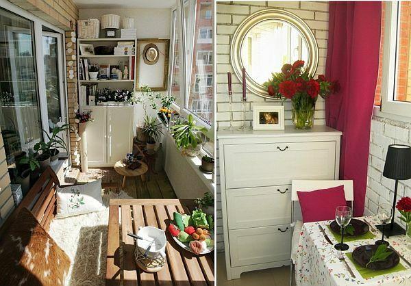 kleiner balkon 40 kreative und praktische ideen living pinterest. Black Bedroom Furniture Sets. Home Design Ideas