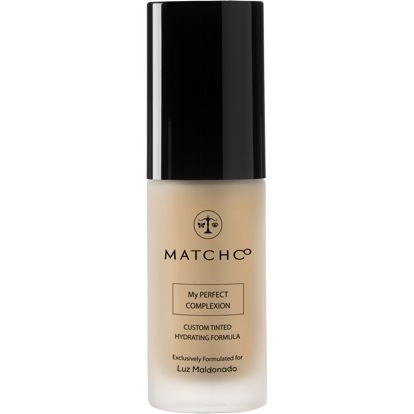I just tried MATCHCo, a beauty app that scans your skin and custom blends a foundation to perfectly match your skintone. The bottle is even printed with yourname on it. You've got to try it out. Use this link for $10 off your first order!