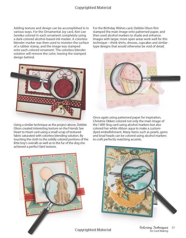 Amazon Card Making Part - 40: Coloring Techniques For Card Making (Annieu0027s Attic: Paper Crafts): DRG  Publishing:
