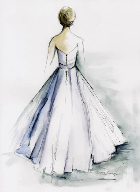 Custom Wedding Gown Portraits Via The Grommet Wedding Dress
