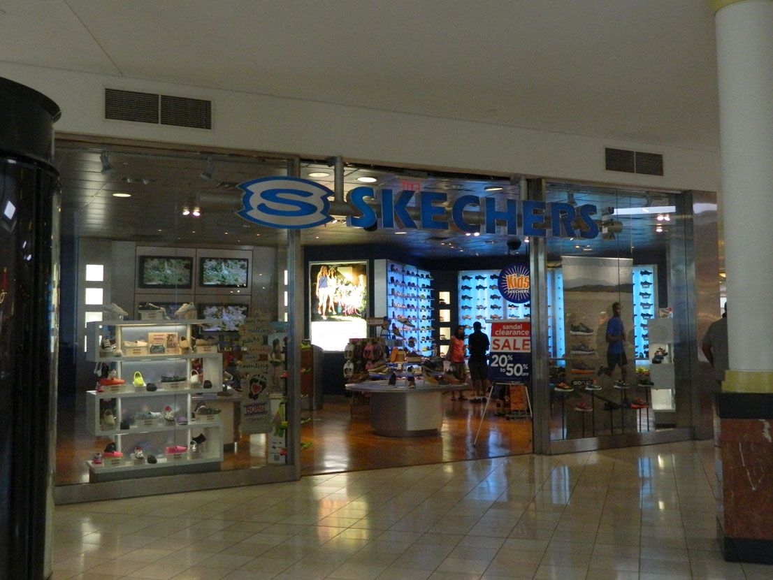 Skechers at the King of Prussia Mall in