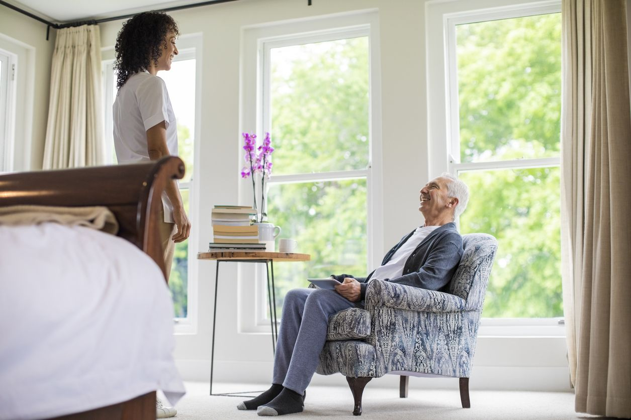 Our Routine Home Care service brings professional care and