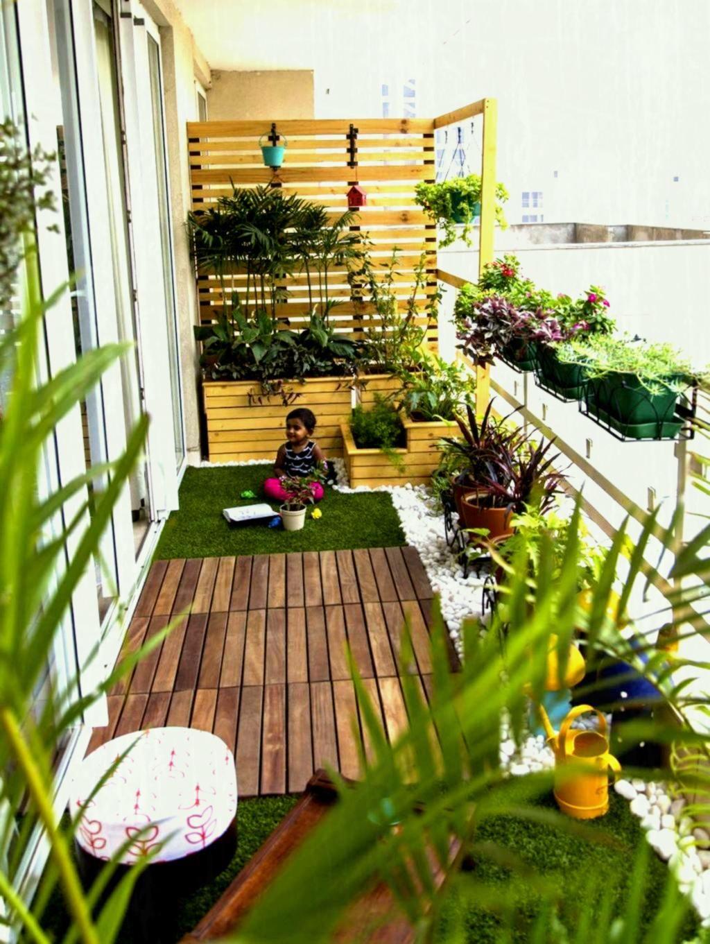 10 Apartment Patio Garden Design Ideas, Most Elegant as well as ...