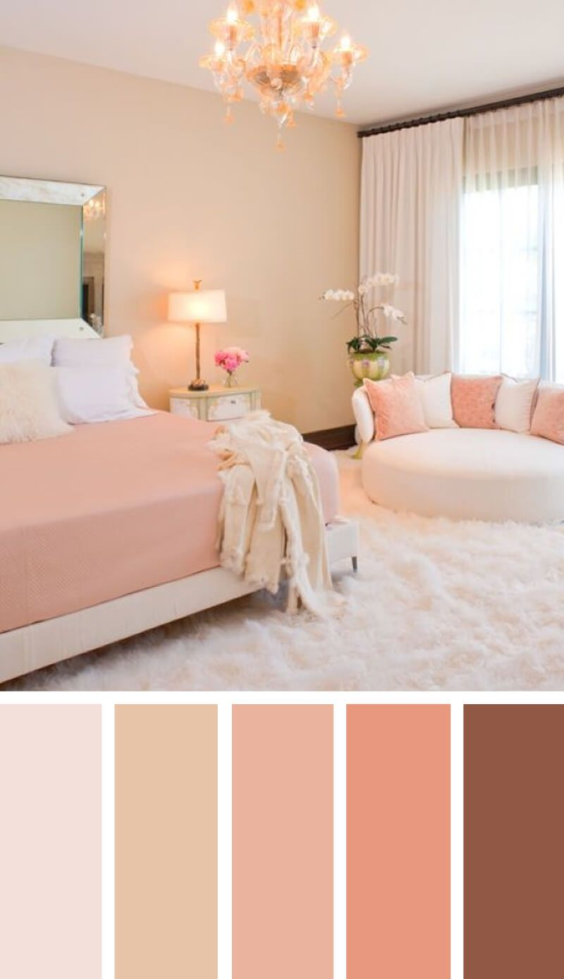 Photo of Inspiring Bedroom Color