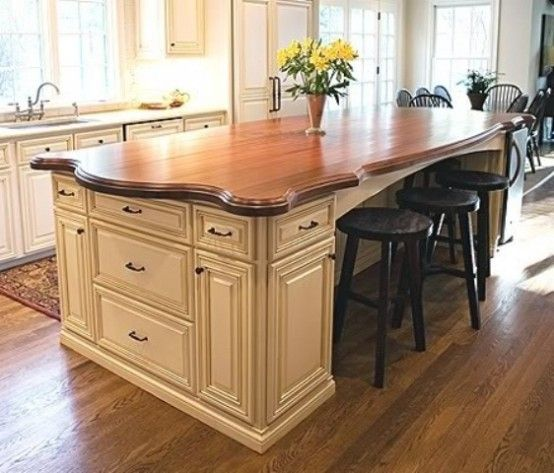 58 Cozy Wooden Kitchen Countertop Designs Countertop Design