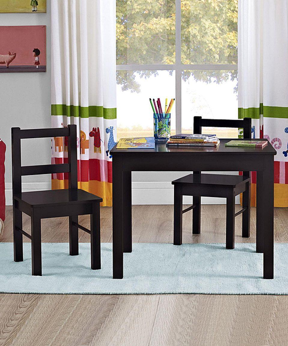 Espresso Hazel Kids Table & Chair Set by Altra zulily