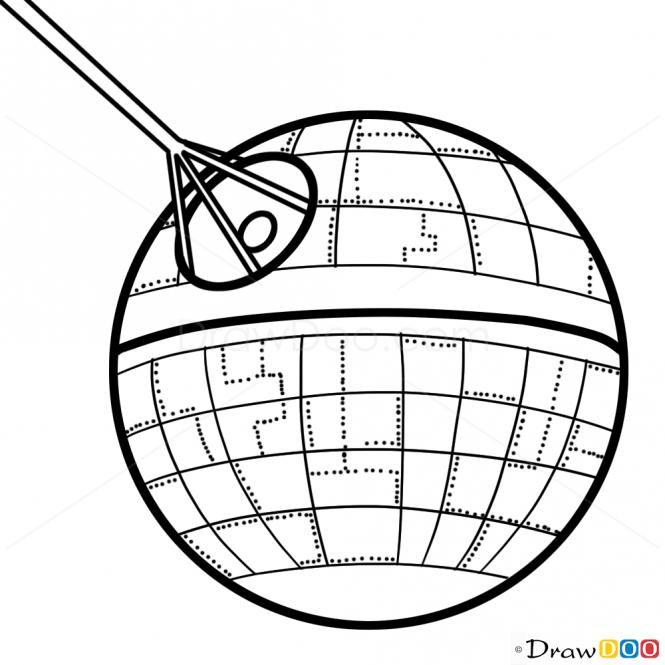 Millennium Falcon Drawing