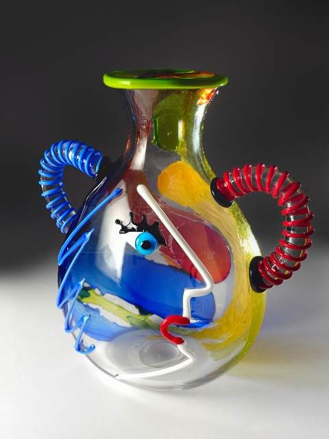 Murano Glass Blown Vase Glass Art Of All Kind Pinterest Murano