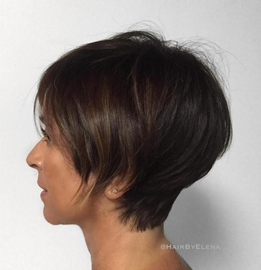 cute and easytostyle short layered hairstyles short haircuts