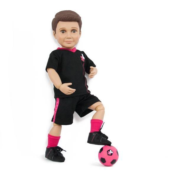 "$90 HeForShe  Mason 18"" Ball Jointed Boy Doll   Boy Story"