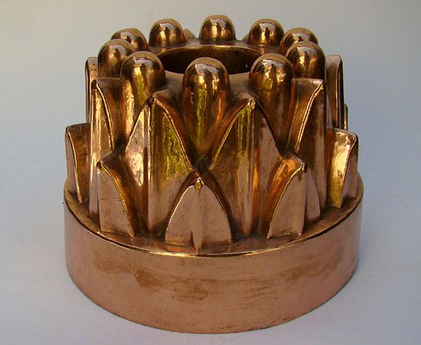 Antique copper mold