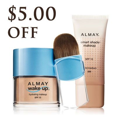 picture regarding Almay Printable Coupons called Discount codes: $5 Printable Almay Make-up Coupon codes Printable