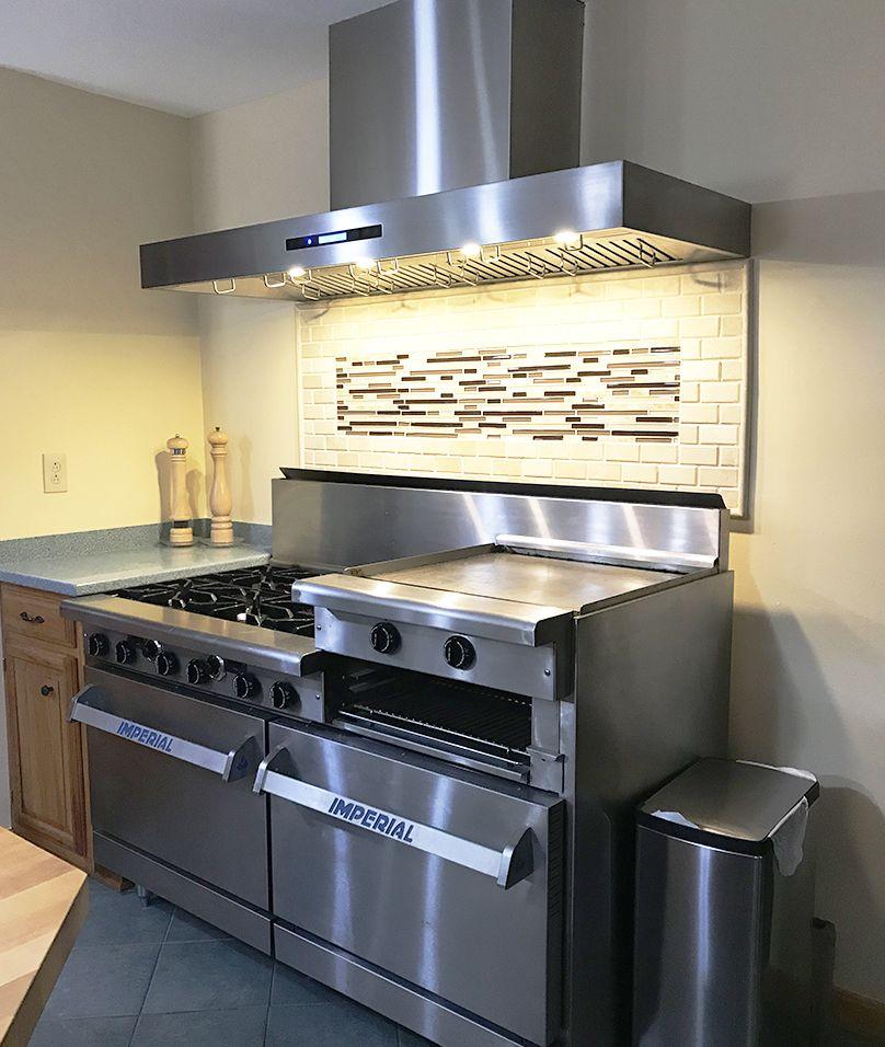 42 Wall Range Hood Plfw 755 42 In 2020 Range Hood Kitchen Design Stainless Steel Range Hood
