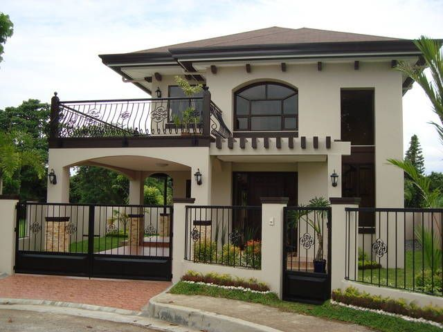 Picture Of Lobby 2 Storey House Design House With Balcony Simple House Design