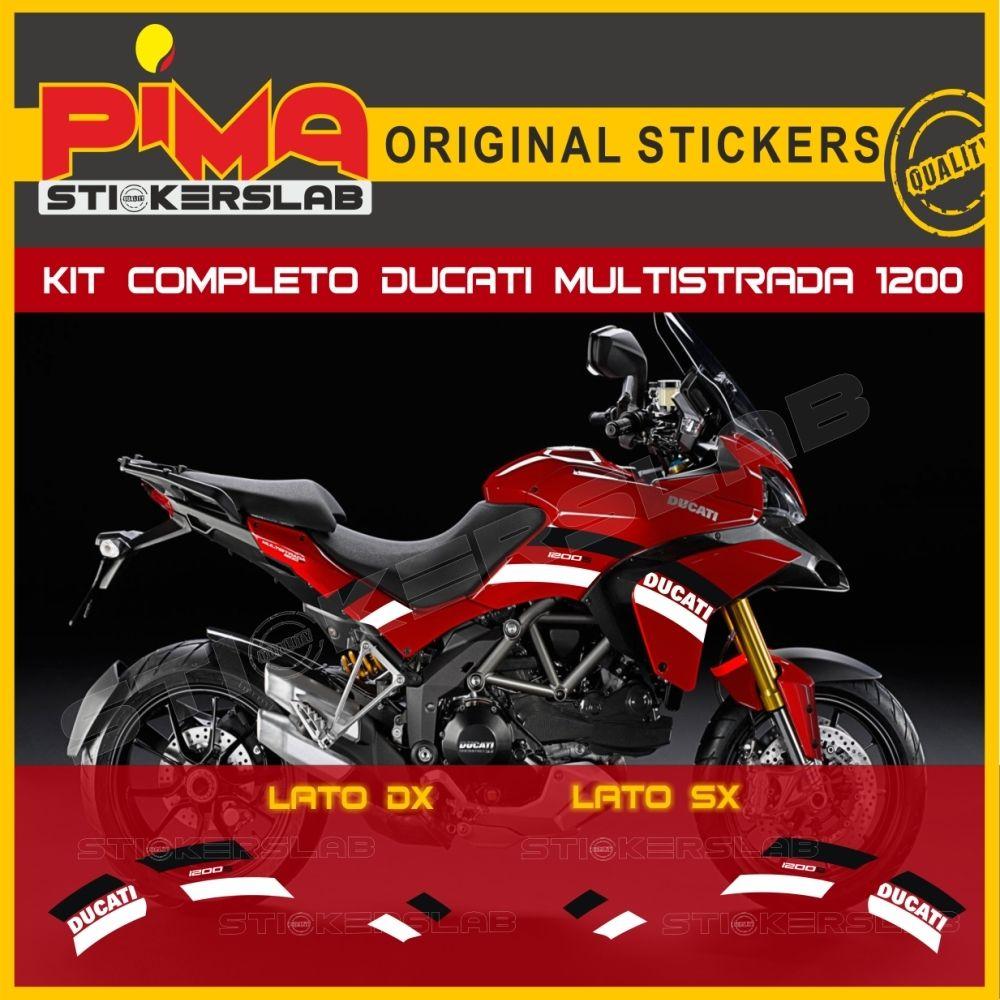 Stickers Kit for Ducati Multistrada 1200 design customized