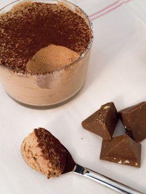 Toblerone-Mousse mit nur 3 Zutaten | danielas foodblog #christmasdesserts