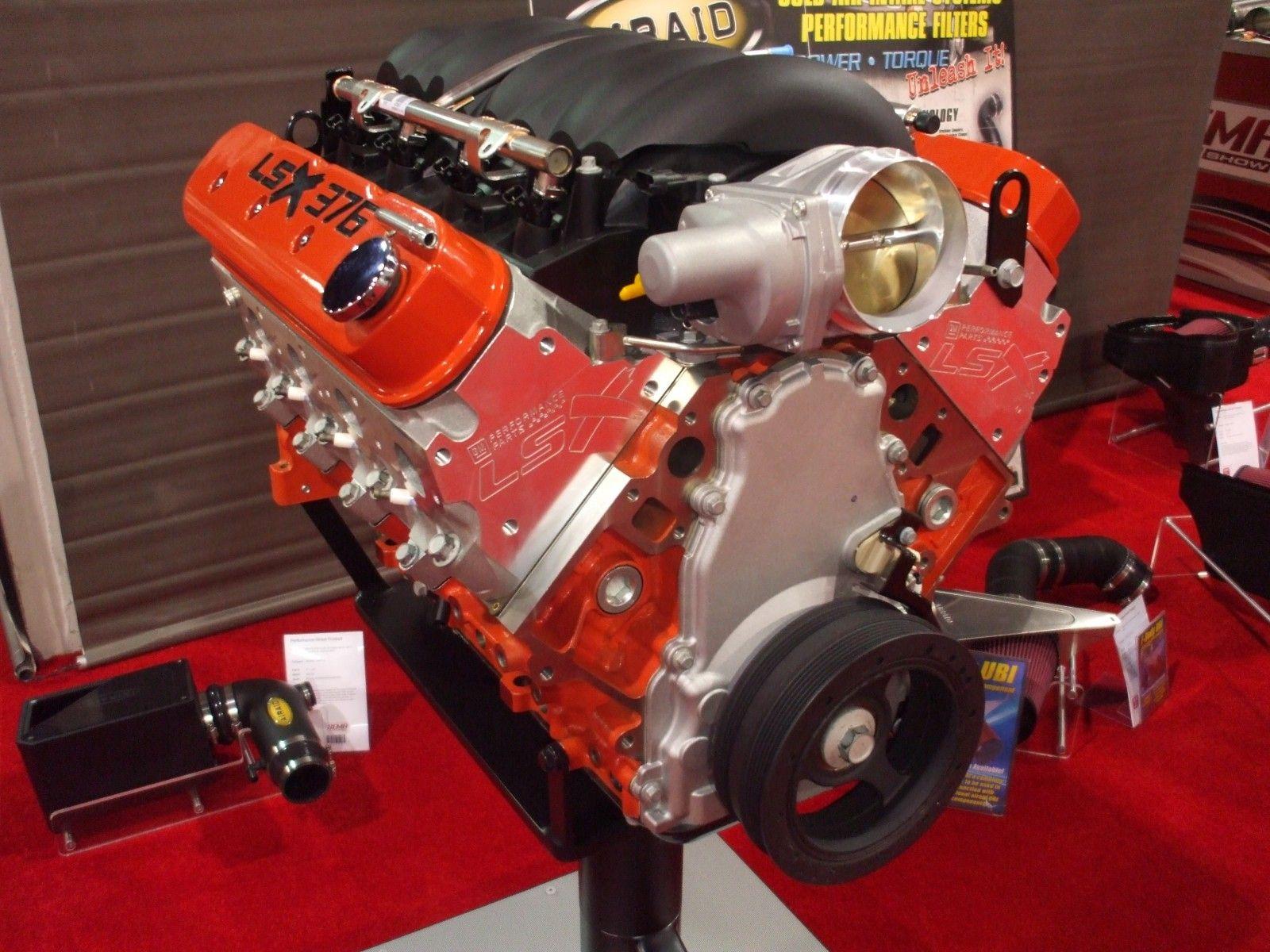 The Chevrolet Performance LSX376 Crate Engine SEMAShow