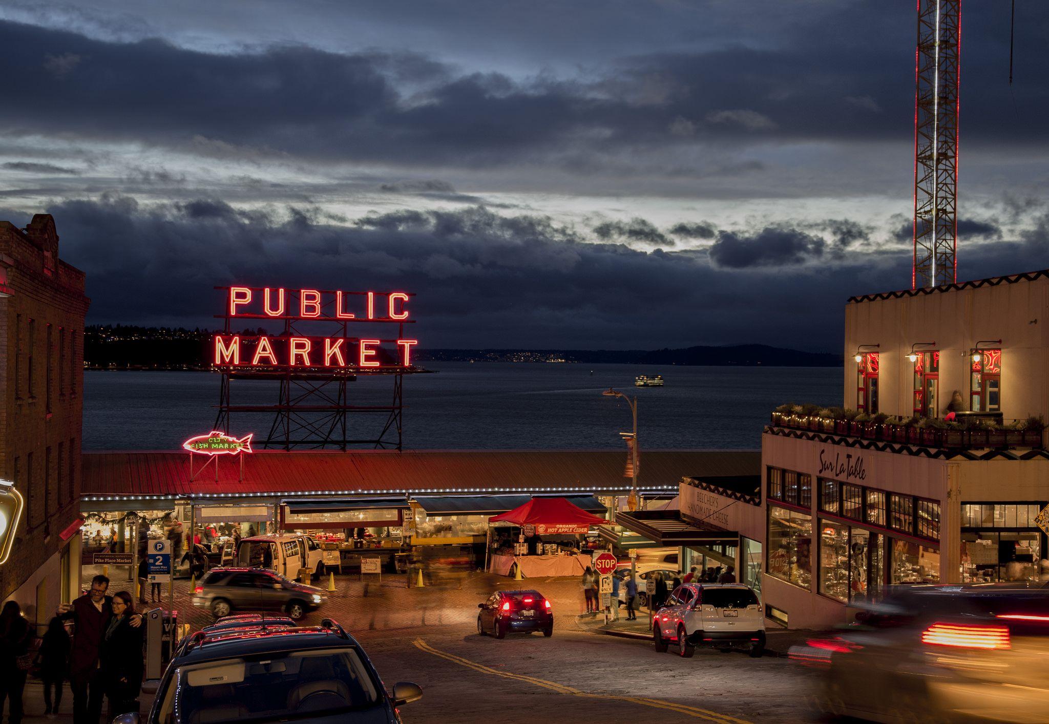 Outdoor Market in Seattle http//ift.tt/2we5Ftx Outdoor