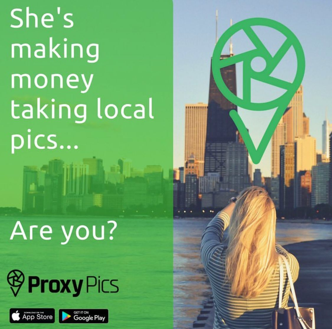 Make extra cash while taking photos download free app