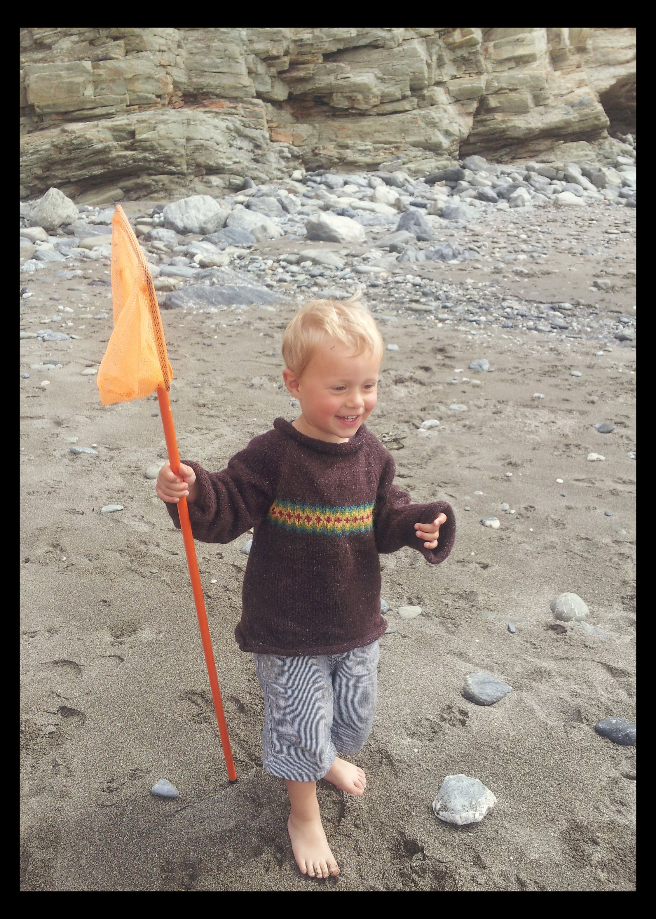 Poco Loco Jumper by Little Robin. Hand knitted in Cornwall. Knitting ... f0f30cde8e77