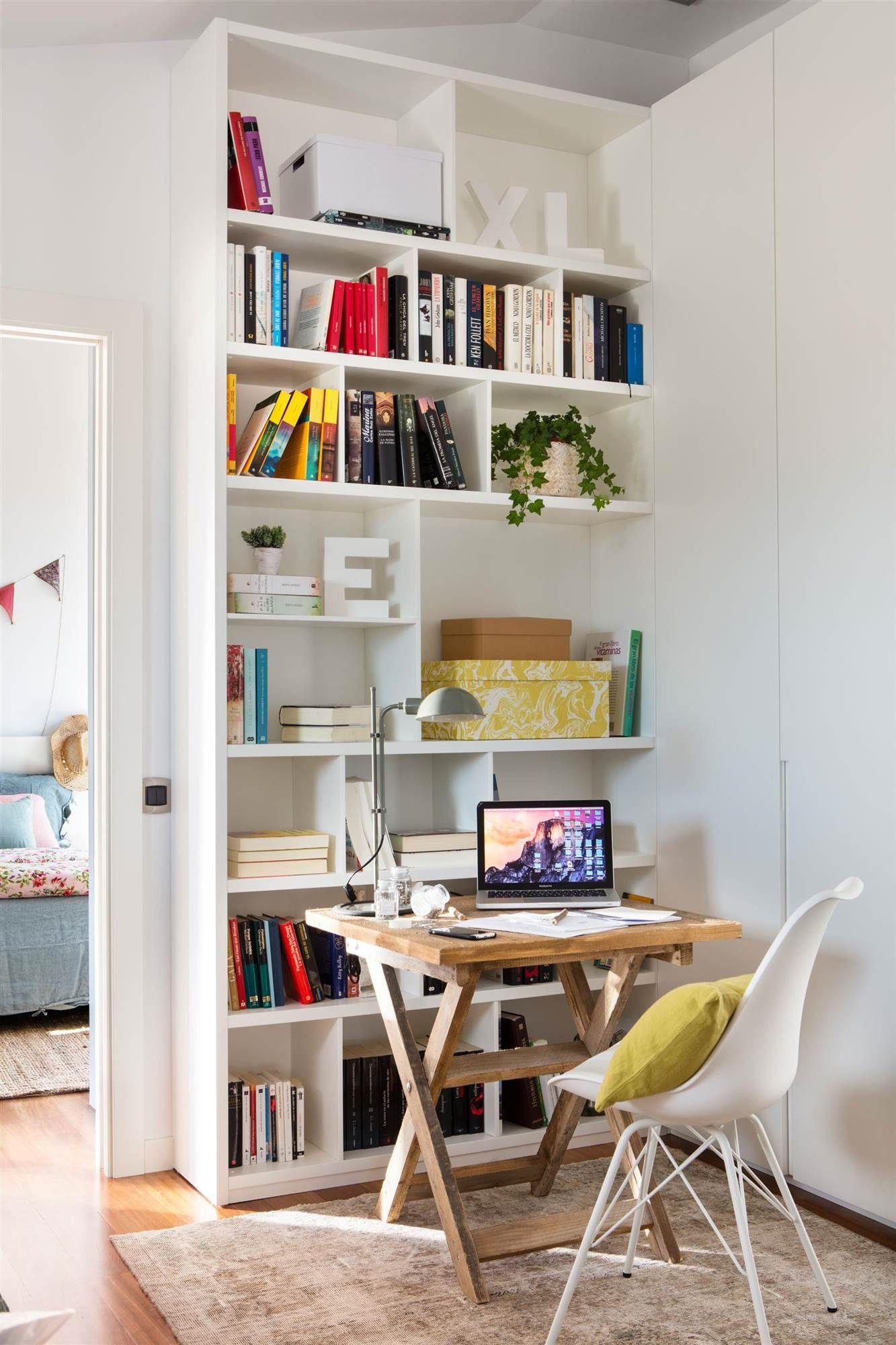 D a 17 haz que el orden se suba por las paredes en 2019 for Librerias salon modernas