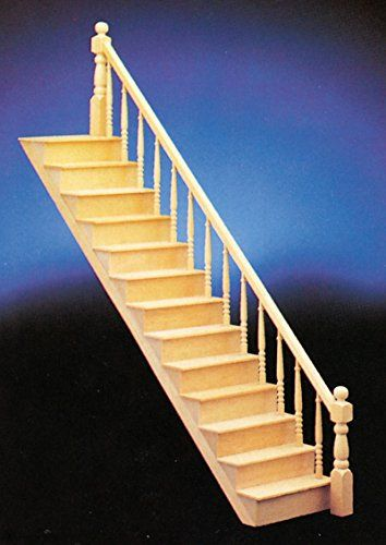 Best Handley House Dollhouse Miniature Staircase Kit In 400 x 300
