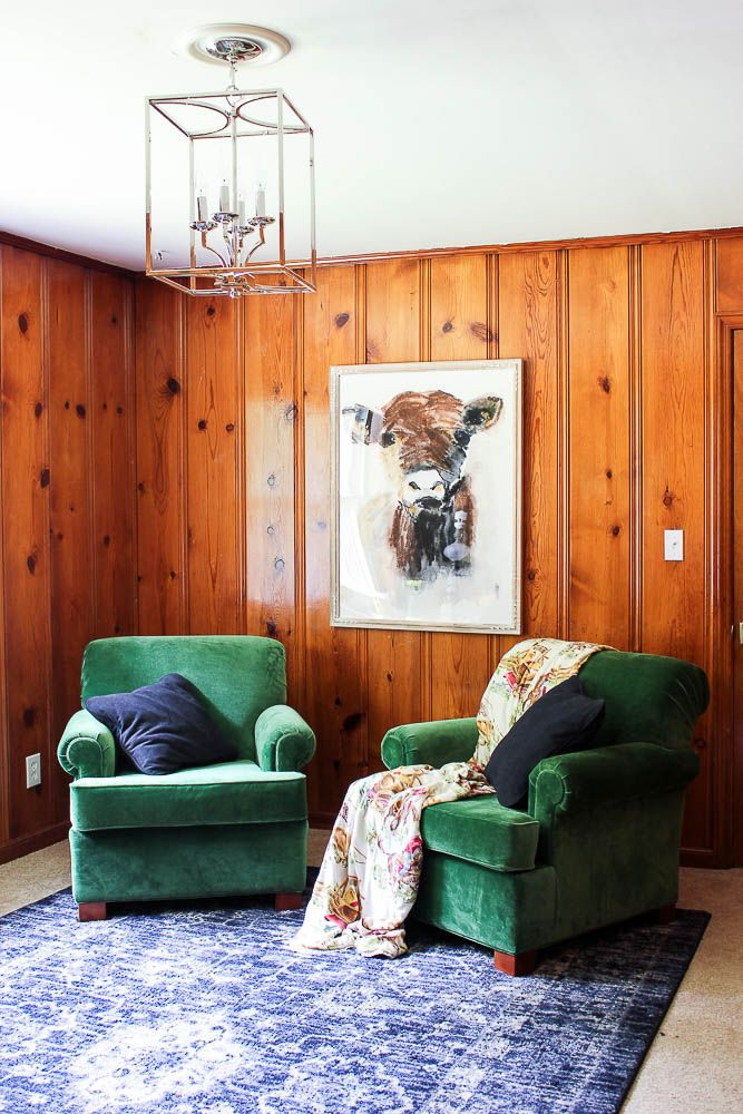 Rooms With Wood Panel Walls: Knotty Pine Walls Decorating Ideas: What Works With Knotty
