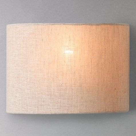 Samantha uplighter linen wall light lighting online john lewis buy john lewis samantha wall light online at johnlewis aloadofball Choice Image