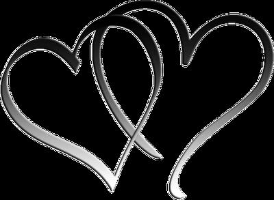 Double Heart Logo Png Love Heart Tattoo Two Hearts Tattoo Heart Logo