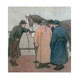 The Horse Dealers Robert Polhill Bevan