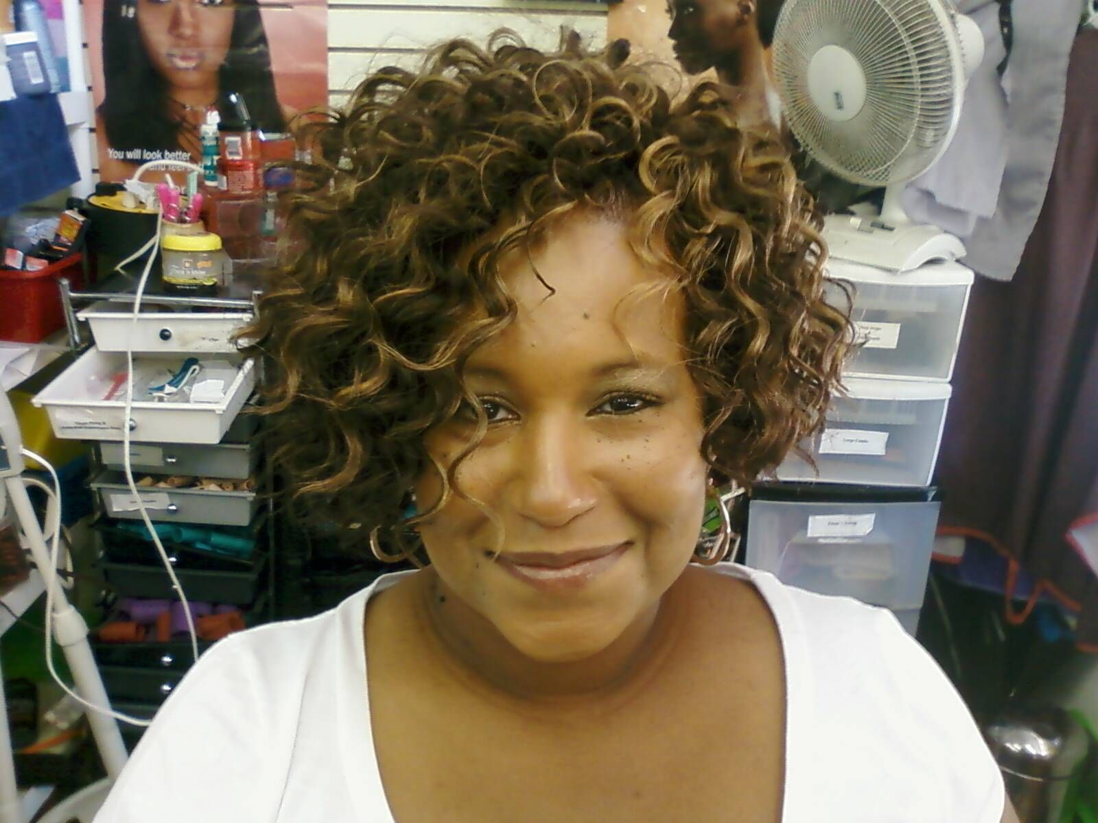 the curly bob | hairstyles | short curly weave, weave