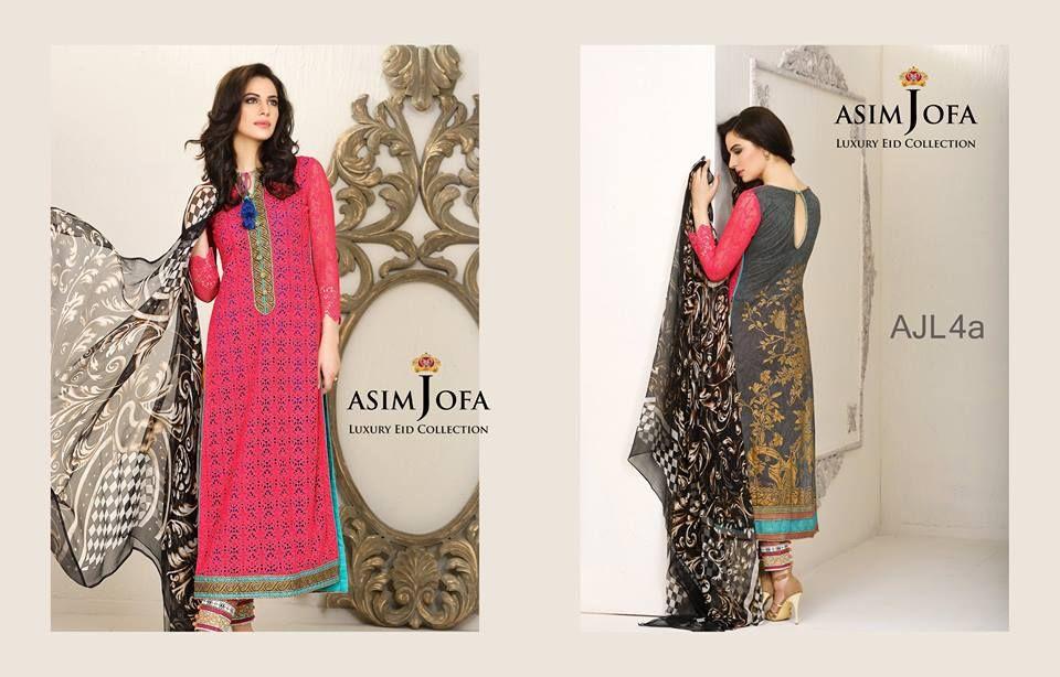 Asim Jofa Luxury Eid Dresses Collection 2015-2016   StylesGap.com