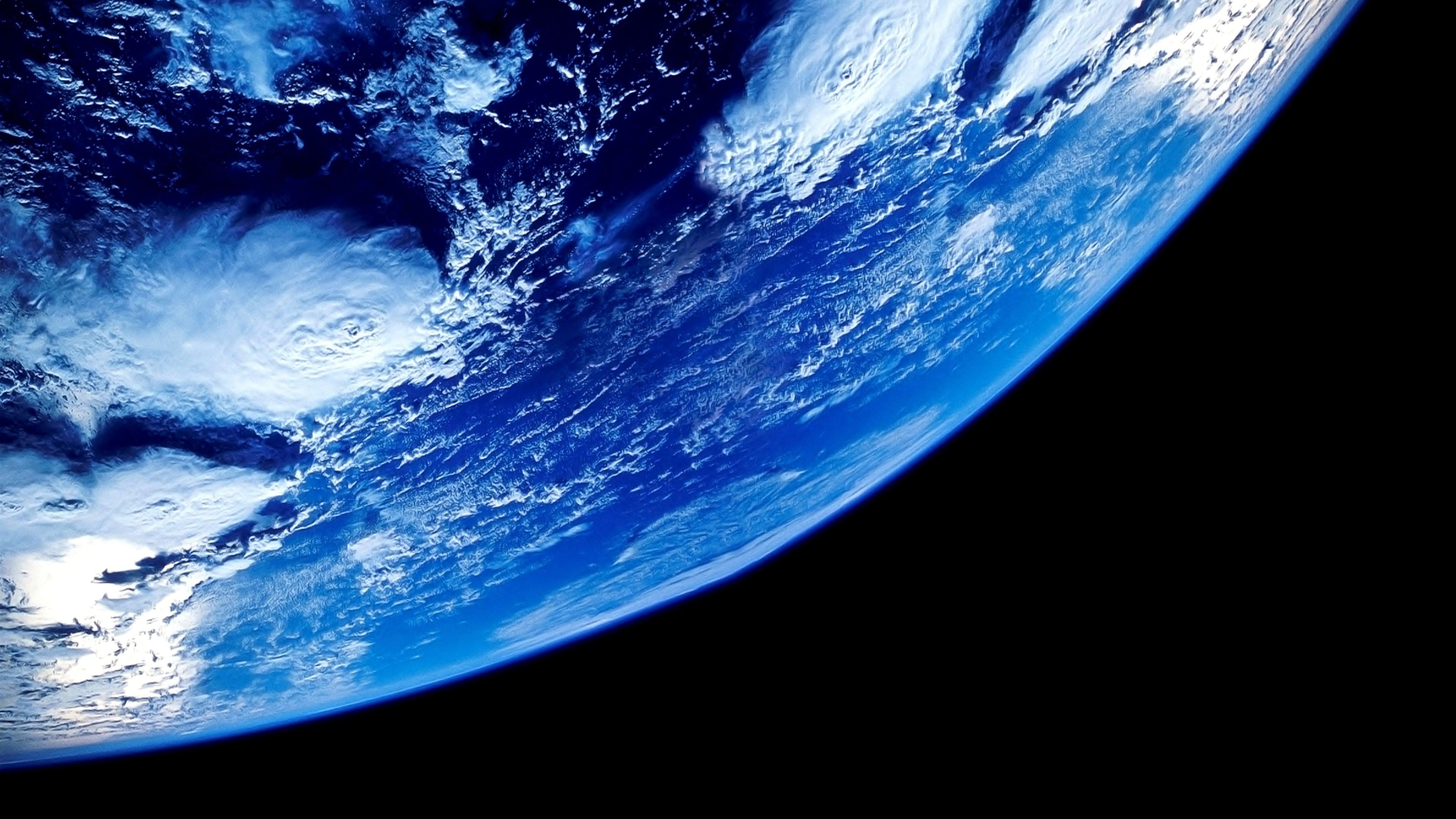 Earth View in space 4k hd wallpaper Wallpapers para pc