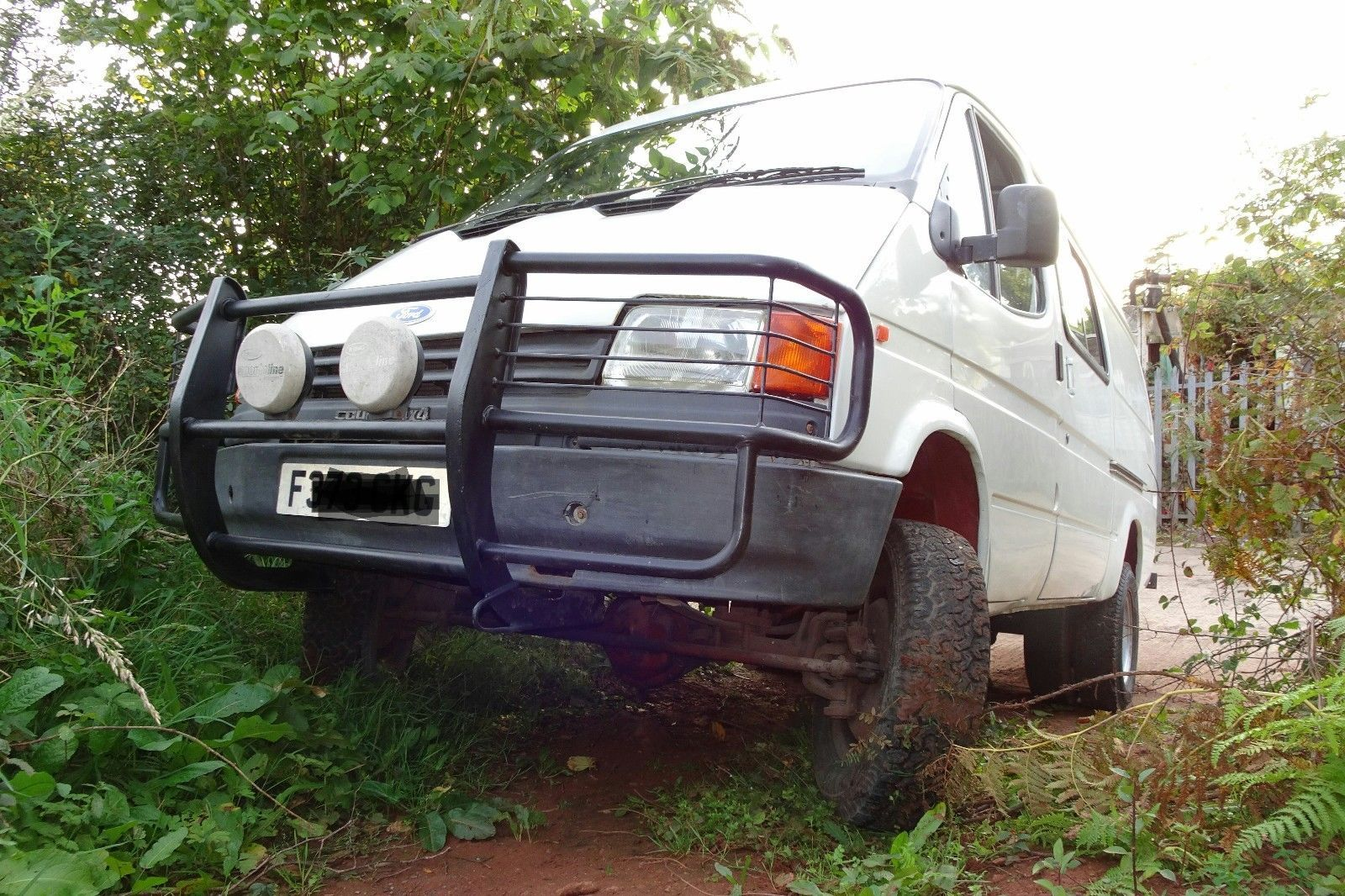 This Ford Transit County 4x4 Overland Expedition Camper Van Not